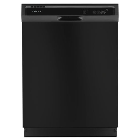 Superior Amana Full Console Dishwasher Triple Filter Wash, 1 Hour Wash, Heated Dry  Option, 3 Wash Cycles, 2 Options, High Temperature Option, 12 Place Setting  ...