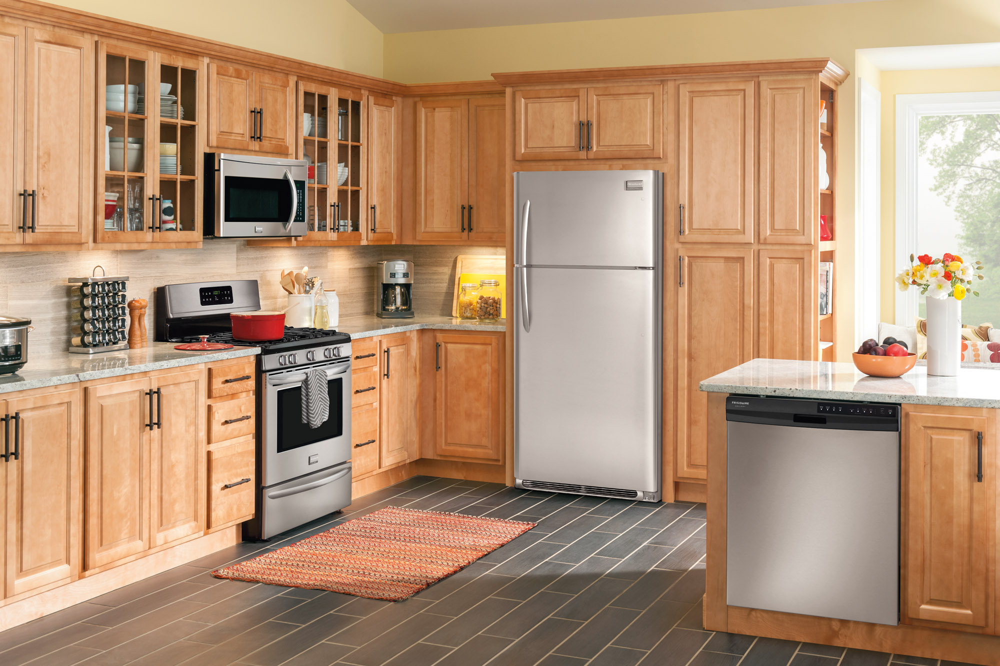 Stainless Steel Apartment Size Appliances - TheApartment